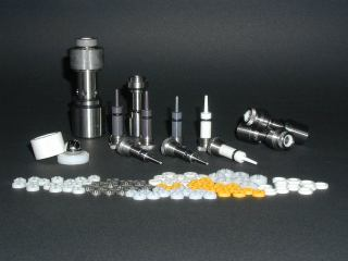 Water Jet Nozzle and Plunger Products Made in Japan by Kondo Seiki Co., Ltd